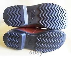 Israel Army IDF Paratroopers Leather Light Red / Brown 38 Euro Size BRILL Boots