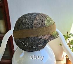 Israel Israeli Idf Tzahal Infantry Combat Helmet + Camouflage Net