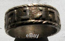 Israel-palestine Rare Hagana  Pre Idf Military Organization 1940's Ring
