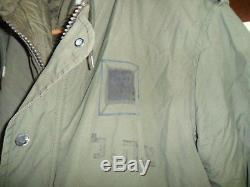 Israeli Army Dubon Jacket Zahal Field Cold Windproof Parka Idf MADE IN ISRAEL