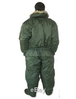 Israeli Army IDF Extreme Cold Weather Boiler suit work wear Coverall Hermonit