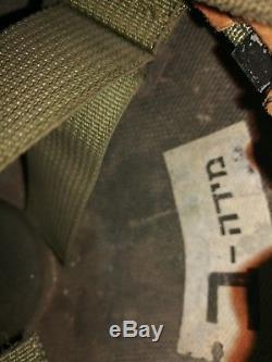 Israeli Army IDF Vintage Kevlar ORLITE Combat Helmet With Insignia
