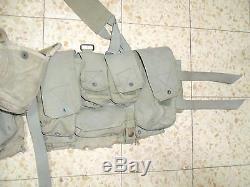 Israeli Army Idf Ephod Vest Zahal 1984 MADE IN ISRAEL Rabintex Web with Z Label