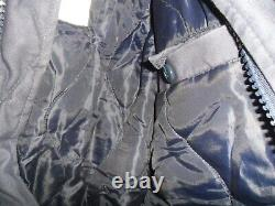 Israeli Army Idf Zahal Blue Jacket Air Force IAF Police Pull Out Hood. Military