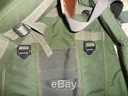 Israeli Army Idf Zahal Military Golani Backpack, Bag, Carrier, Holder. ISRAEL MADE