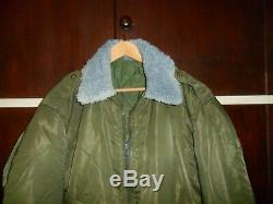 Israeli Army Jacket Sheep Fur Collar MILITARY NOT COMMERCIAL. Zahal Idf Israel