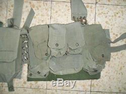 Israeli Army LACE Idf Ephod Vest Zahal FIRST GENERATION Used Lebanon War 1982