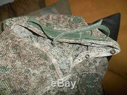 Israeli Army Poncho Full Body Camo Suit with Hood Double Sided Military Idf Zahal