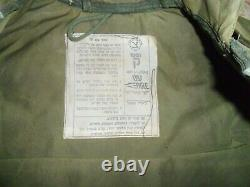 Israeli Army Zahal Flak Vest Shards Protective Jacket 1982 Lebanon War Idf Label