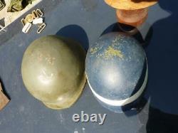 Isreali IDF M1 Steel Helmet & Fibre Liner Size 60