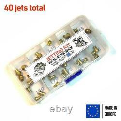 Jetting Kit Weber 40/42/45/48/50 DCOE/IDF main jet air corrector 40 jets custom