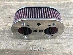 K&N Sportluftfilter Luftfilter für Weber IDF 40 44 48 63mm VW Käfer Typ1 Typ 4