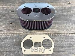 K&N Sportluftfilter Luftfilter für Weber IDF 40 44 48 83mm VW Käfer Typ1 Typ 4