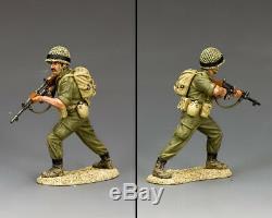 King & Country Israeli Defense Force Idf005 Israeli Para Rifleman Advancing Mib