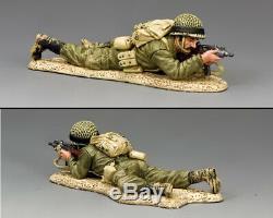 King & Country Israeli Defense Force Idf009 Israeli Para Prone Firing Mib