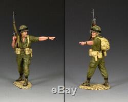 King & Country Israeli Defense Force Idf015 Israeli Para Pointing Mib