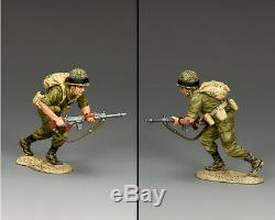 King & Country Israeli Defense Force Idf018 Israeli Para Moving Forward Mib