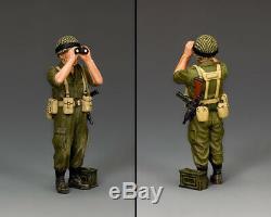 King & Country Israeli Defense Force Idf027 Israeli Officer With Binoculars Mib
