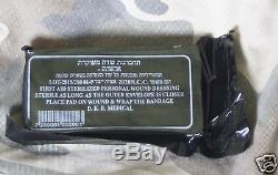 LOT 45 IDF Trauma Israeli Bandage Field Emergency Army Military IFAK combat nib