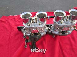 Lancia Scorpion Dual Carburetor Intake Manifold, New, Webers, Idf Carbs