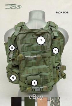 Lior Textile Industries Tactical Vest THE CHAMELEON Israeli Plate Carrier IDF