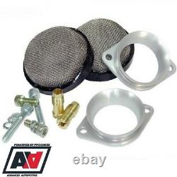 Low Profile Air Horn Trumpet Mesh Filter Kit For Weber 40 IDF Jaguar V12 etc ADV