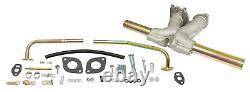Manifold Kit, Single D Carburetor, Fits IDF & HPMX