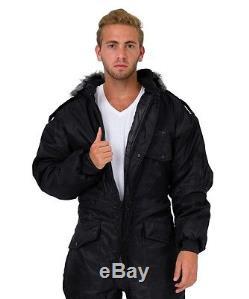 Men Womens IDF Black Snowsuit Winter clothing Ski Snow suit One piece