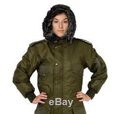 Men Womens IDF Green Snowsuit Winter clothing Ski Snow suit One piece