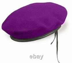 Military Purple Beret of IDF Givati Infantry Brigade Israel Army Hat Police Cap