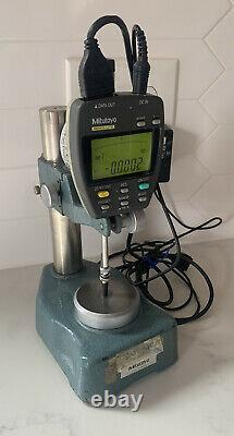 Mitutoyo Digimatic Digital Indicator ID-F125E 543-442-1 W /Inspection Stand 0-1