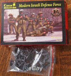 Modern Israeli Defense Force (IDF), CAESAR, 1/72, #CM057, figurines modernes