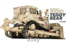 New 1/72 Israel Armored IDF Caterpillar D9R Bulldozer Desert Color Plastic Model