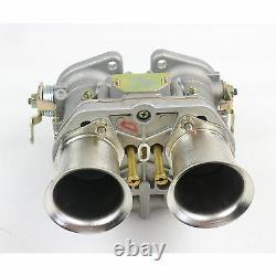 New 40IDF Carburetor 2 battle Fit for Bug Beetle VW Fiat Porsche With Air Horn