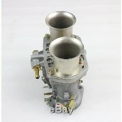 New 44IDF Carburetor With Air Horn Carb Fit for VW Fiat Porsche Bug Beetle Carb