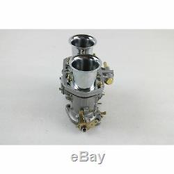 New 48 IDF Carburetor Carb fit for Solex Dellorto Weber EMPI 48MM w Air Horns