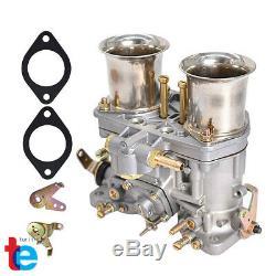 New 48 IDF Carburetor Carb for Solex Dellorto Weber EMPI 48MM w Air Horns