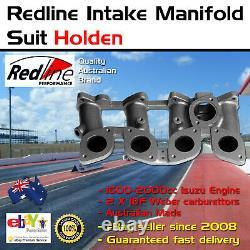 New Intake Inlet Manifold Fits Holden Gemini Jackaroo 1600-2000 2 X IDF Weber