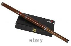 New Irish Professional Tunable D Flute with Hard Case 23 Length 3 Pcs Music AAR