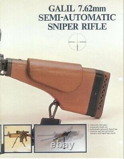 Nimrod 6X40 rifle scope M1aye Galil IMI IDF Israeli Hakko Japan