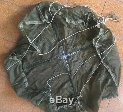 Original Vintage Idf Israel Military Tactical Parachute 37
