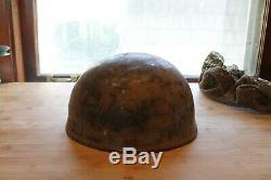 Original WWII British Israeli Modified Paratrooper Helmet IDF