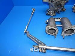 PORSCHE 914 VW BUS EMPI HPMX WEBER IDF TYPE DUAL 40mm CARBURETOR KIT