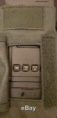 PRC-624 IDF ISRAEL MILITARY RADIO ARMY Handheld PRC-710 for display airsoft