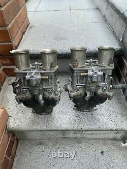 Pair Italian weber 44 idf VW bug Air Cooled Porsche 356 912 Fiat