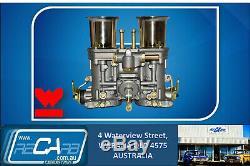 Pinto/Escort/Cortina 2L GENUINE Twin 44 WEBER IDF Carburettor Conversion Kit