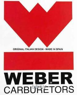 Porsche 356 912 Weber Carburetor Conversion Kit 40IDF withGenuine Spanish Webers