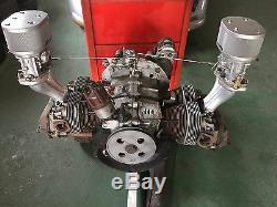 Porsche Silver Coated Weber Air Filter Cleaner IDF and Dellorto Carburetors