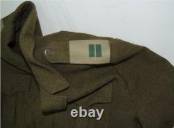 RARE Vintage Israeli IDF Military Army Officer Lieutenant Jacket 1960s Judaica