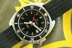 Rare Eterna Super Kontiki Idf Israeli Special Forces Military Combat Diver Watch
